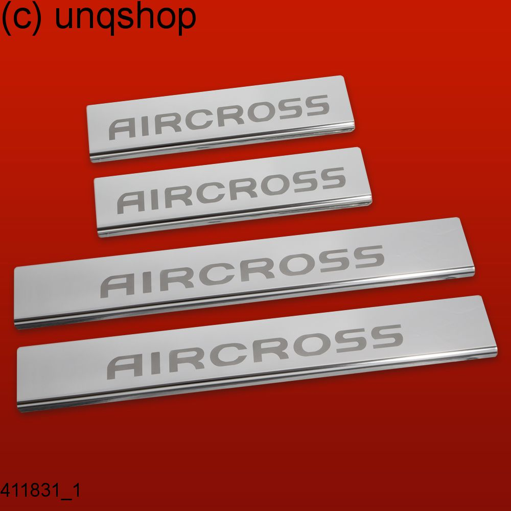 411831 brillant 4 les seuils de porte pour citroen c4 aircross c4 aircross ebay