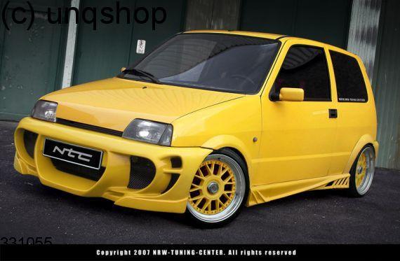 Front Bumper X Treme Fiat Cinquecento