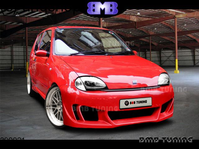 Front bumper (MIRAGE) Fiat Seicento