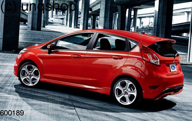 Side skirts Ford Fiesta MK7 , only for Prefacelift 5 doors