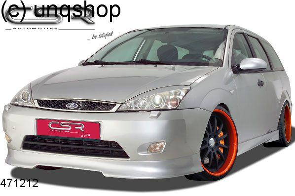 Front splitter bumper lip spoiler valance add on Ford Focus Mk1 , only for Facelift