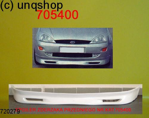 Front splitter bumper lip spoiler valance add on Ford Focus Mk1 , only for Prefacelift