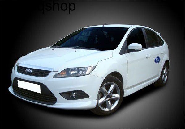 Front splitter bumper lip spoiler valance add on Ford Focus MK2 , only for Facelift