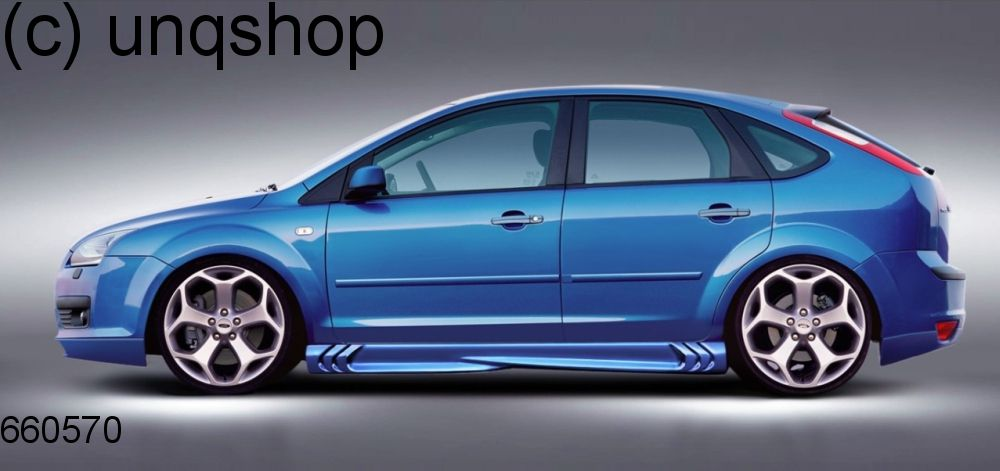 Side Skirts S Power Ford Focus Mk2