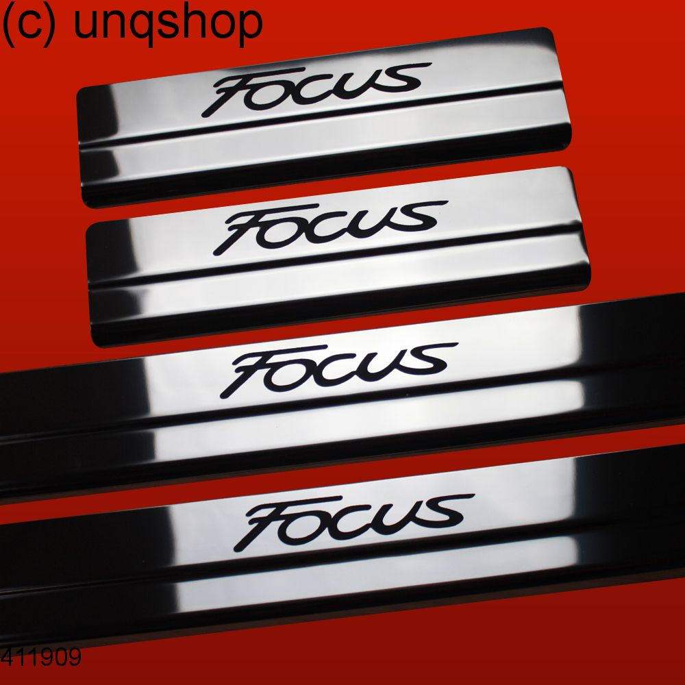 Door sills (Focus) Ford Focus Mk3 , only for Facelift