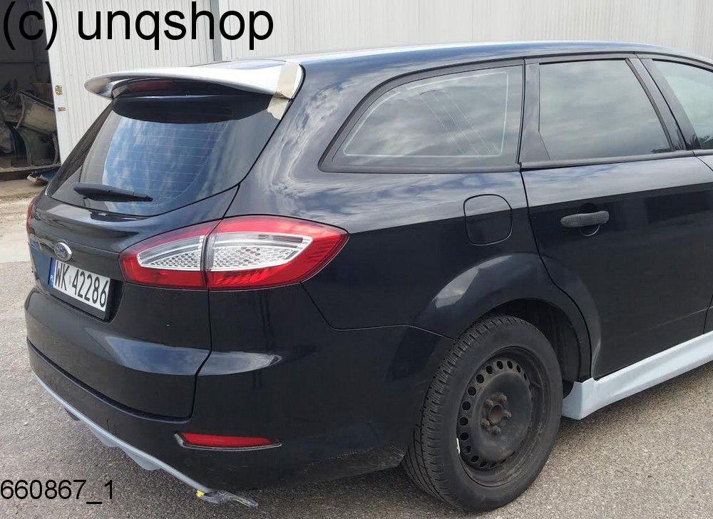 660867 roof spoiler ford mondeo mk4 facelift estate grp ebay. Black Bedroom Furniture Sets. Home Design Ideas