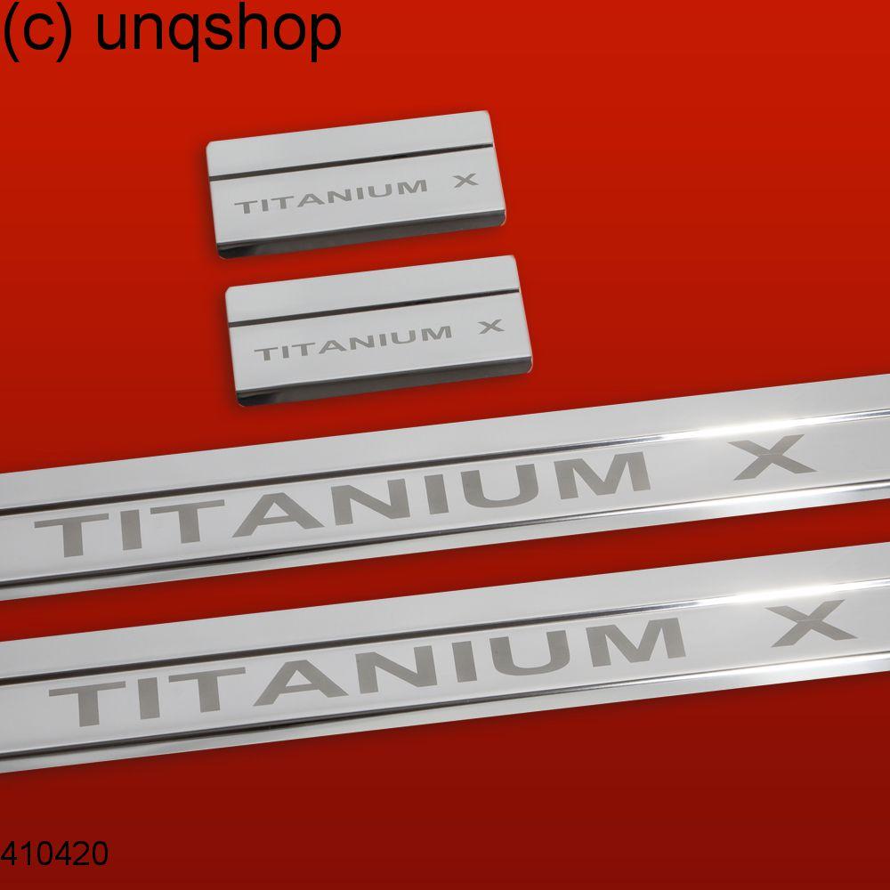 Door sills (Titanium x) Ford Mondeo Mk4