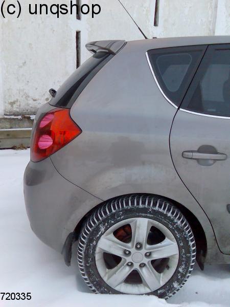 Roof Spoiler Kia Cee D Mk1 Only For Facelift Hatchback