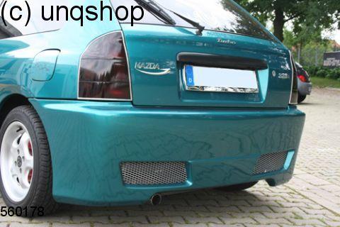 Rear bumper (TA) Mazda 323 P
