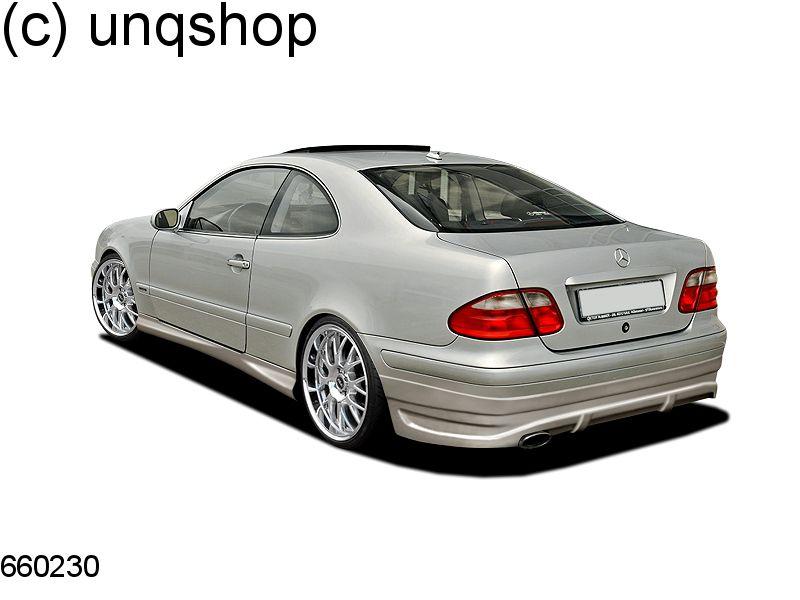 Rear bumper Mercedes CLK W208