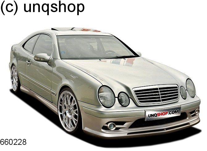 Front bumper (with foglights) Mercedes CLK W208