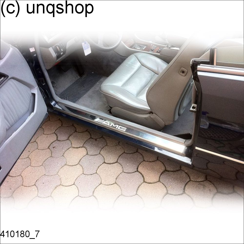 Door sills (Amg) Mercedes E W124 , only for Convertible/Cabrio/Coupe