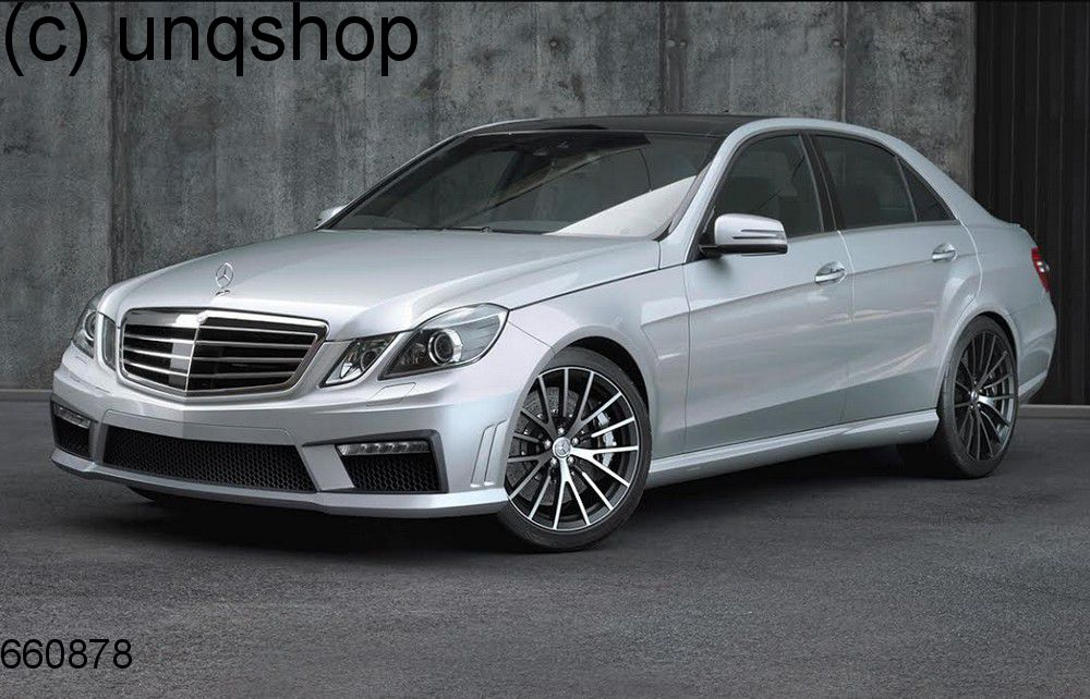 Side skirts (AMG look) Mercedes E W212