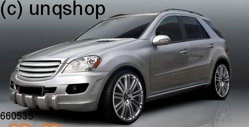 Front bumper (PR STYLE) Mercedes ML W164