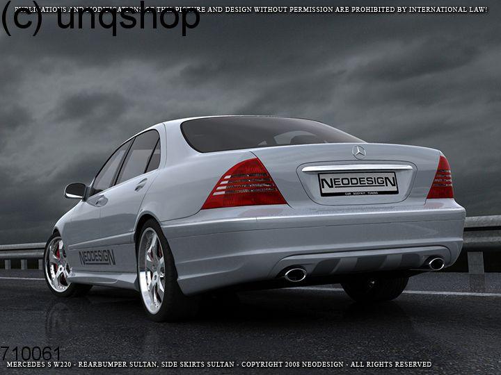 Rear bumper (Sultan) Mercedes S W220