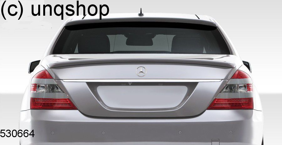 Boot Spoiler Mercedes S W221 , only for Facelift