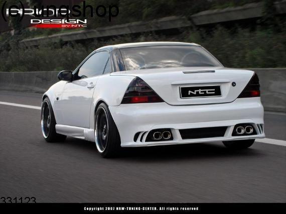 Rear bumper (EXCLUSIV-LINE) Mercedes SLK R170