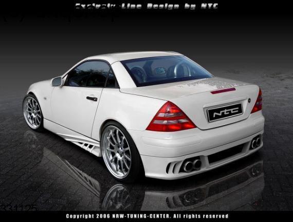 Side skirts (NTC2 /DJ) Mercedes SLK R170