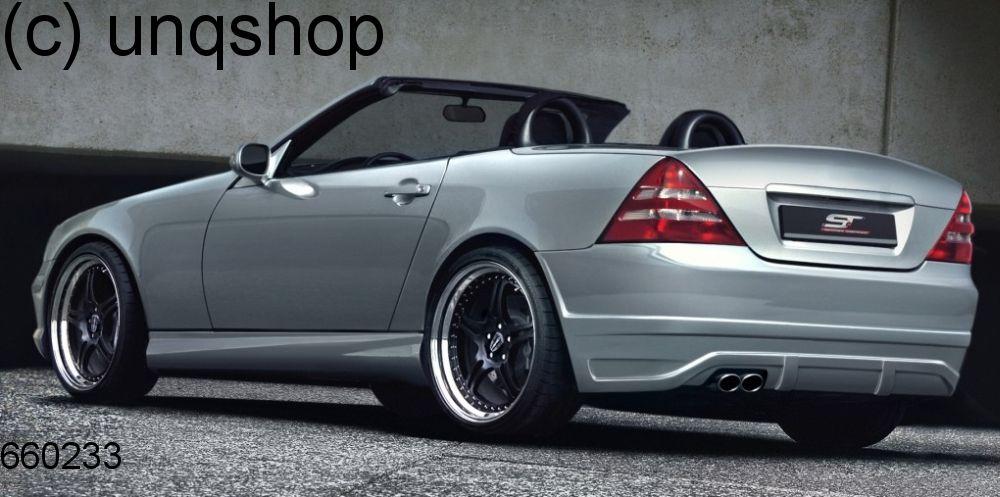 Rear bumper Mercedes SLK R170