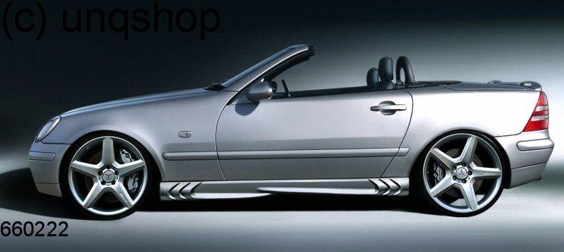 Side skirts (S-Power) Mercedes SLK R170