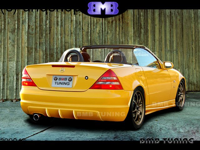 Rear bumper (ST) Mercedes SLK R170