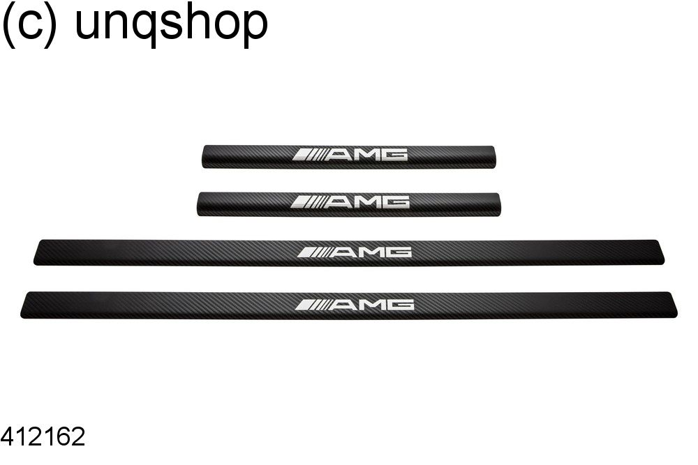 Door sills (AMG) Mercedes Vito MK1 W638 , only for 4 doors