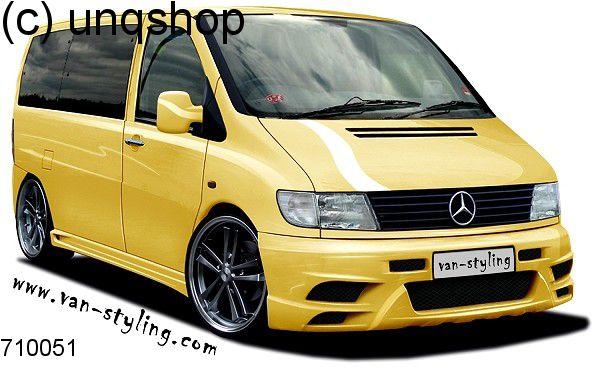 Front Bumper (Magnus) Mercedes Vito Mk1 W638