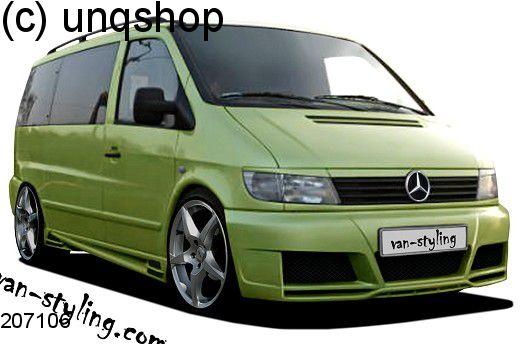 Front bumper (NTC) Mercedes Vito Mk1 W638