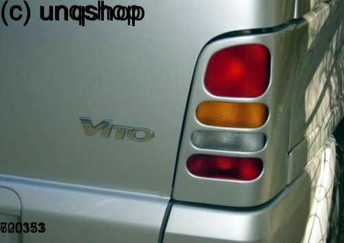Rear Tail Lights Masks Mercedes Vito Mk1 W638