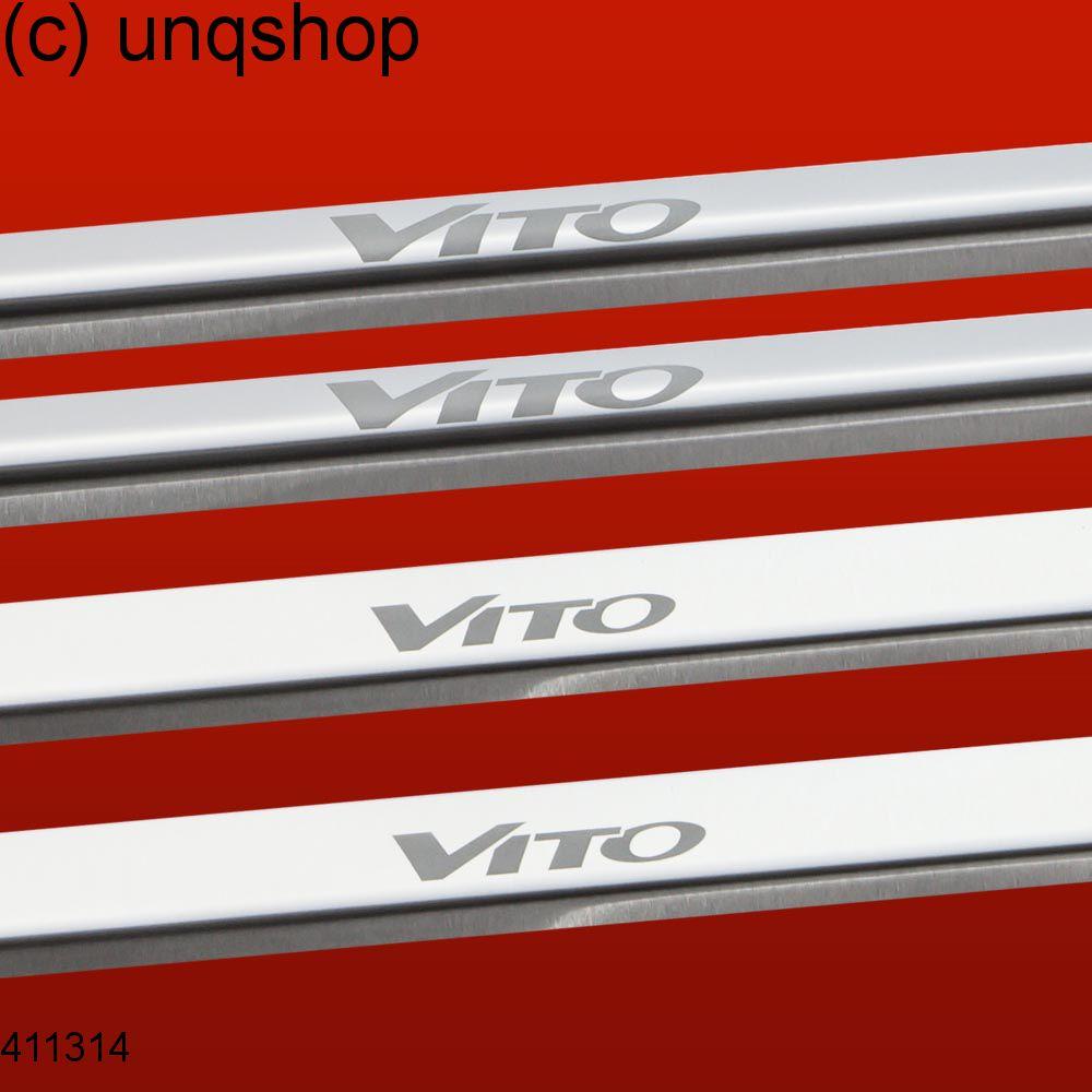 Door sills (Vito) Mercedes Vito Mk1 W638