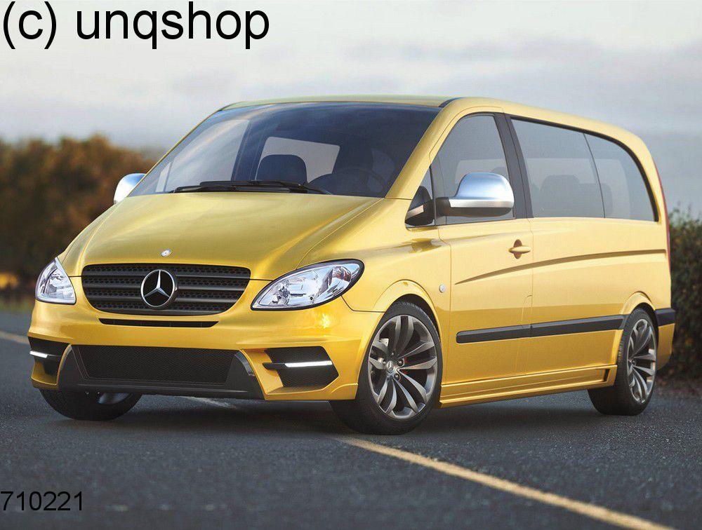 Front bumper (MAGNUS II) Mercedes Vito MK2 W639 , only for Prefacelift
