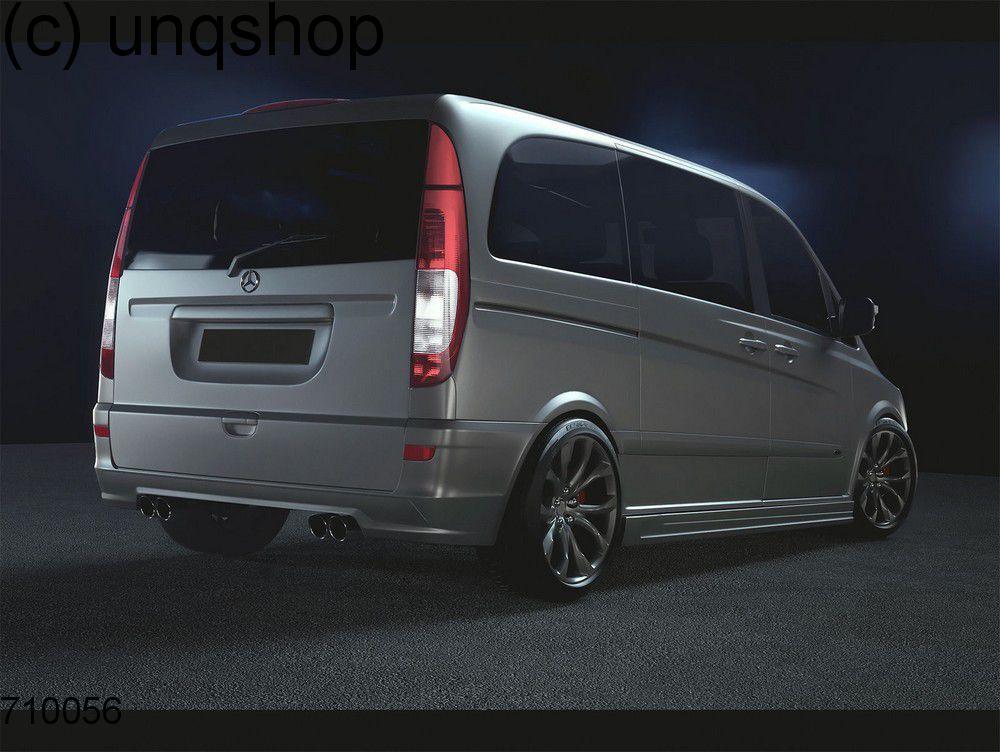 rear bumper magnus mercedes vito mk2 w639 only for lwb. Black Bedroom Furniture Sets. Home Design Ideas