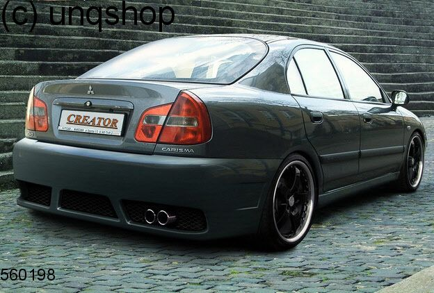 Rear Bumper Tuning Mitsubishi Carisma Only For Facelift