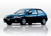Mazda 323 P service 16