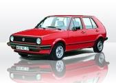 VW Golf Mk2 service 12