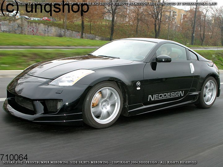 Side Skirts Merowing Nissan 350z