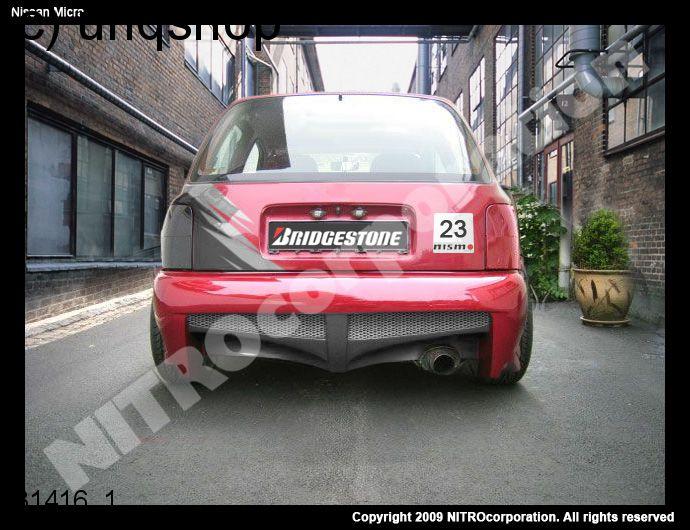 Rear bumper Nissan Micra k11