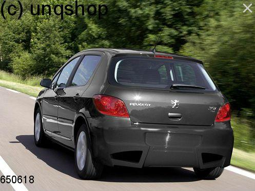rear bumper peugeot 307 , only for hatchback