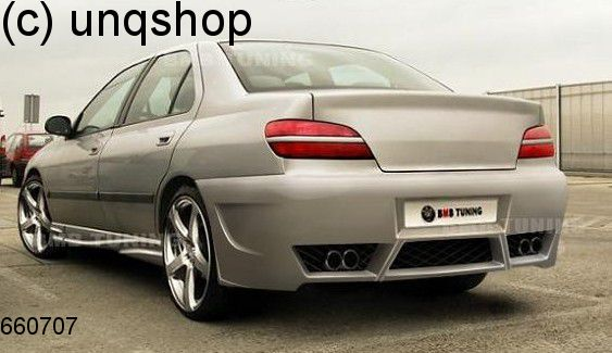 Rear Bumper V Style Peugeot 406 Only For Facelift