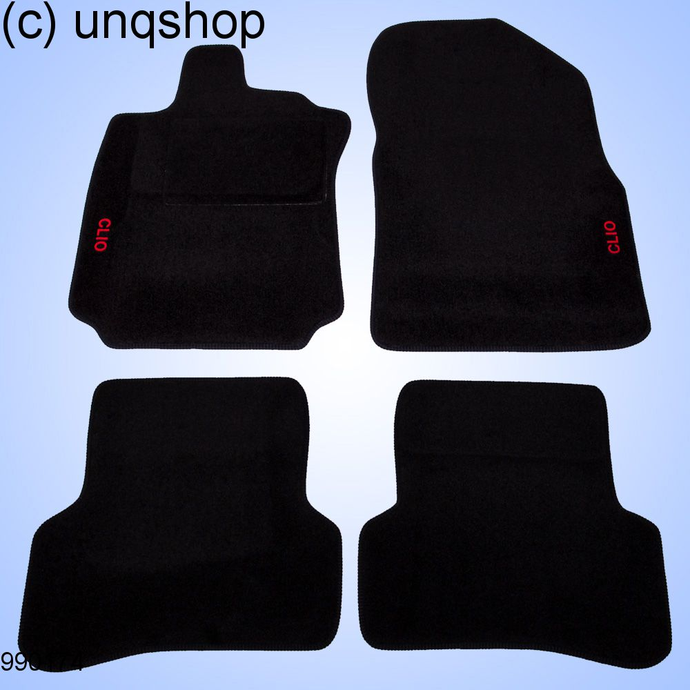 Car Mats Clio Renault Clio Mk4 Only For Euro Lhd