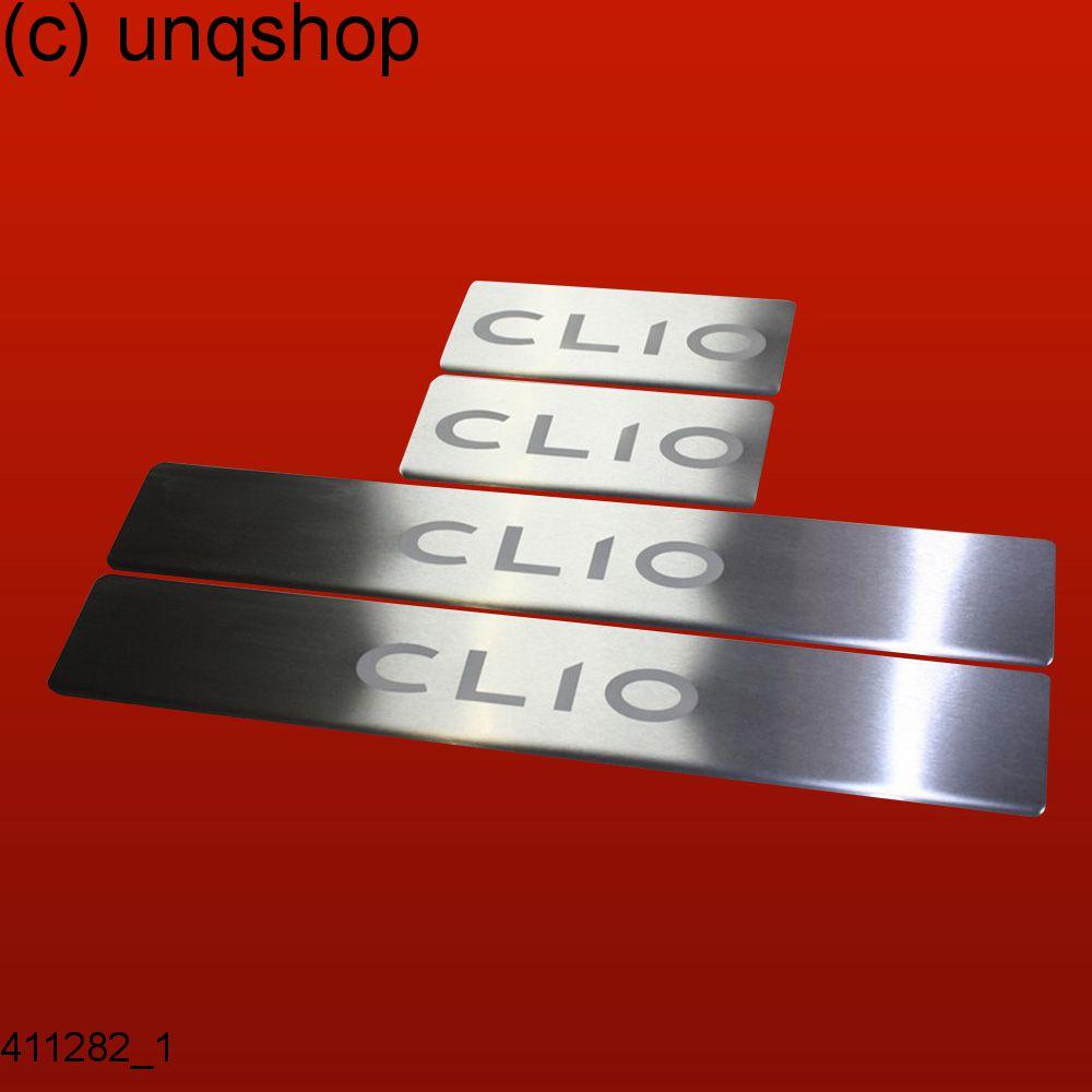411282 mat 4 les seuils de porte convient pour renault clio mk4 mk 4 clio ebay. Black Bedroom Furniture Sets. Home Design Ideas