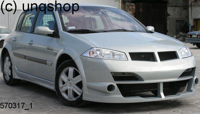 Front Bumper Renault Megane Mk2