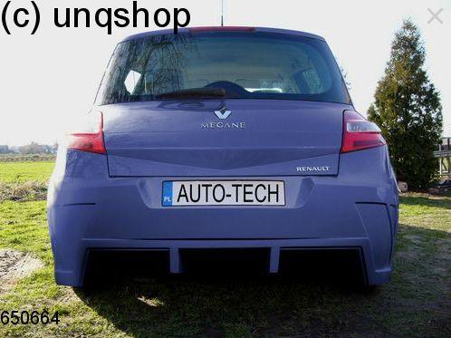 Rear bumper Renault Megane Mk2