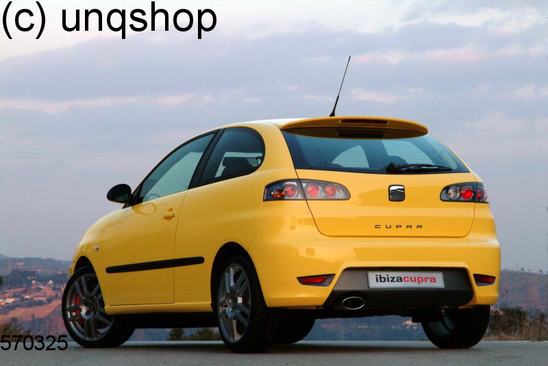 roof spoiler cupra style seat ibiza mk3 6l only for ibiza. Black Bedroom Furniture Sets. Home Design Ideas