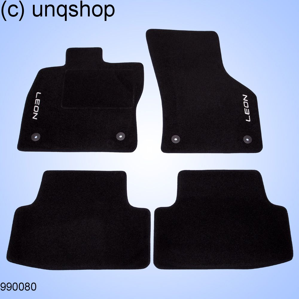 Car Mats Leon Seat Leon Mk3 Only For Euro Lhd