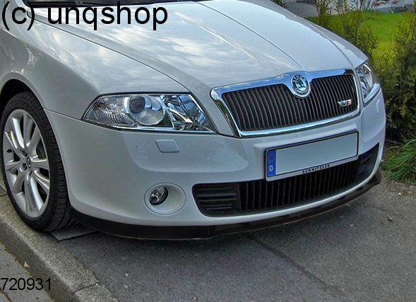 Front splitter bumper lip spoiler valance add on skoda for Garage skoda valence