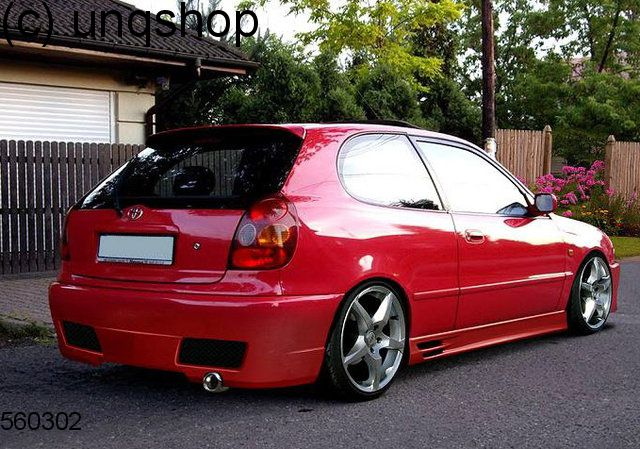 toyota corolla e11 prefacelift body kit type 1 ebay. Black Bedroom Furniture Sets. Home Design Ideas