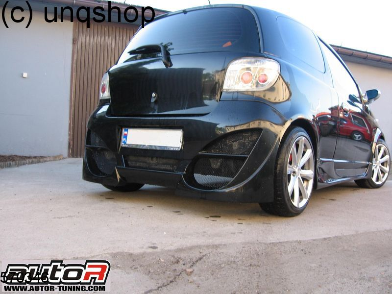 rear bumper kioto toyota yaris mk1 only for facelift. Black Bedroom Furniture Sets. Home Design Ideas