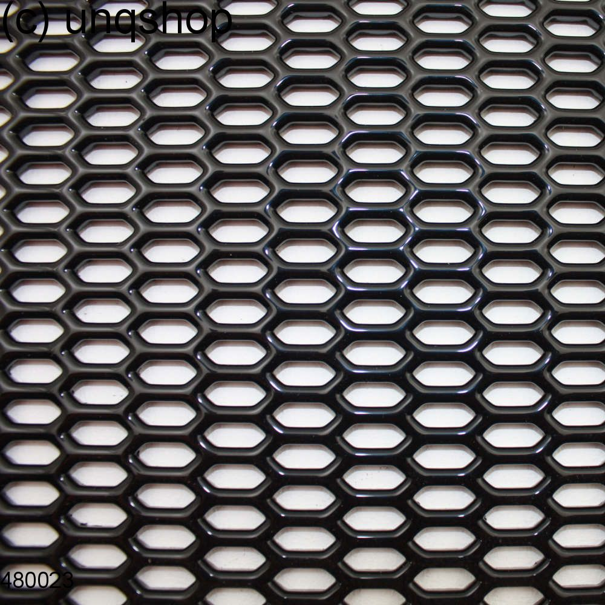 Plastic Mesh Black High Gloss (1090mmx290mm) Universal Grill