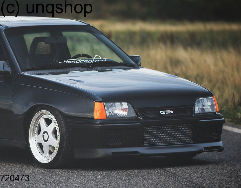 Front Splitter Bumper Lip Spoiler Valance Add On Vauxhallopel Astra